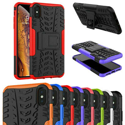 $ CDN7.38 • Buy Tyre Shock Proof Stand Case Cover For Samsung Galaxy S6 S7 S8 S9 S10 S20 + Ultra