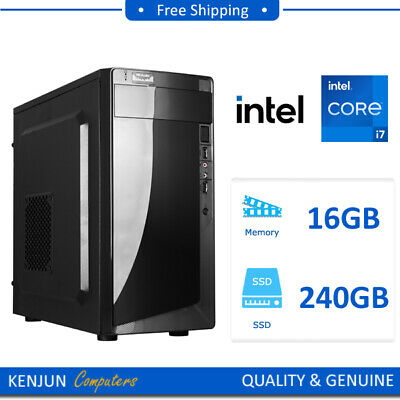 AU1015 • Buy Intel 10700F Eight Core | 16GB | 240GB | GT710 | Gaming Computer Desktop PC