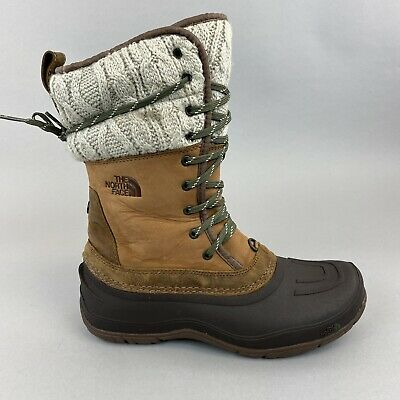 The North Face Primaloft Lace Winter Snow Waterproof Hiking Walking Boots 39 UK6 • 85.10£