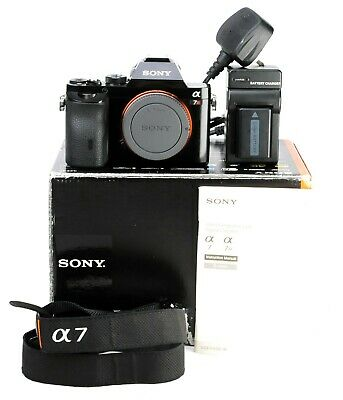 $ CDN968.45 • Buy Sony Alpha A7R  Mirrorless Camera - E Mount - Boxed Generic Battery & Charger VG