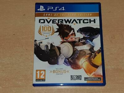 AU35.59 • Buy Overwatch Game Of The Year Edition PS4 Playstation 4 **FREE UK POSTAGE**