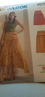 Dressmaking Pattern For Ladies Skirts - New - New Look - Multi Size • 2.50£