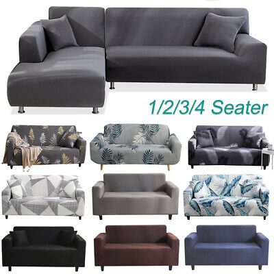 AU23.99 • Buy Sofa Covers High Stretch Lounge Slipcover Protector Couch Cover Full Fitted