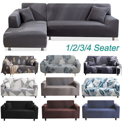 AU20.99 • Buy Sofa Covers High Stretch Lounge Slipcover Protector Couch Cover Full Fitted