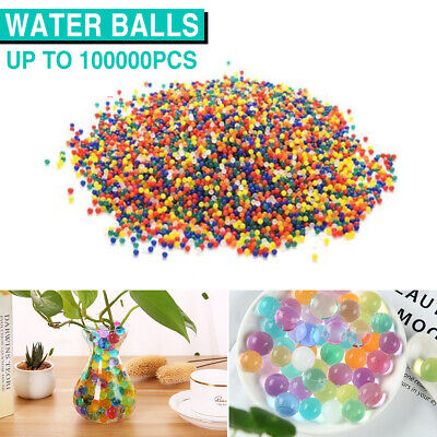 AU15.99 • Buy Water Beads Orbeez Gel Balls Crystal Jelly Soil Vase Wedding Centrepiece Home