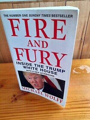 AU4.12 • Buy Fire And Fury Paperback Book. Inside The Trump White House