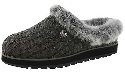 Skechers Womens Ice Angel Closed Toe Clogs, Charcoal, Size 7.0 Z8VW • 14.31£
