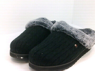 BOBS From Skechers Women's Shoes Zdfzi9 Slippers, Black, Size 9.0 Dqoy • 28.94£