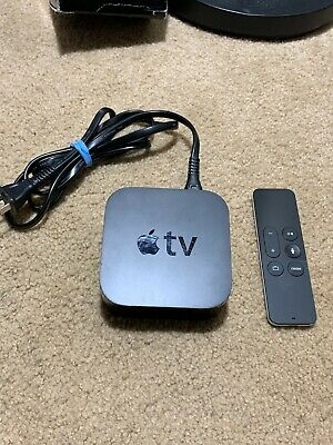 AU102.56 • Buy Apple TV (4th Generation) 32GB HD Media Streamer - A1625 / No Usb Cord **WORKS**