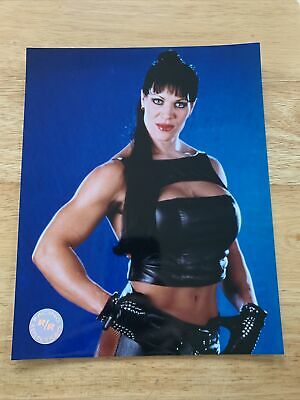 $ CDN12.67 • Buy CHYNA WWE WWF ECW TNA VINTAGE Licensed Glossy 8X10 Wrestling Photo Joan Laurer