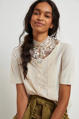 $ CDN81.24 • Buy Anthropologie Celine Lace Top NEW NWT Size M