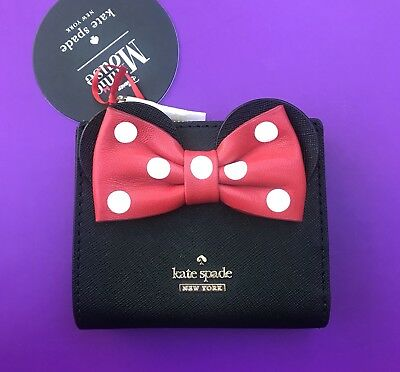 $ CDN88.37 • Buy Kate Spade Disney Adalyn Minnie Mouse Wallet NWT Black