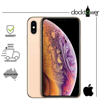 AU699 • Buy Apple IPhone XS Max 256GB Gold A2101 Smartphone Unlocked Good Condition Warranty