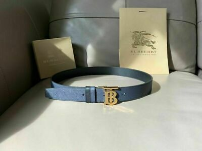 Burberry TB Monogram Double-sided Lychee Pattern Leather Belt • 125.80£