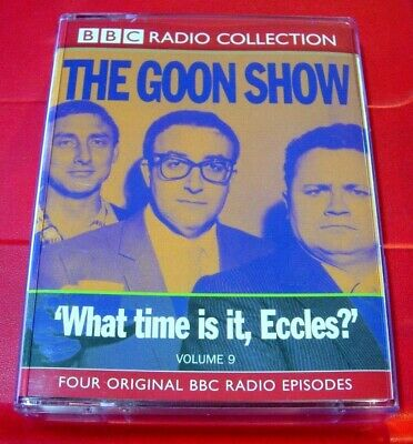 Goon Show Classics Vol.9 2-Tape Audio Goons Under Two Floorboards/The Yehti+2   • 2.99£