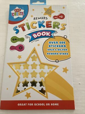 £1.26 • Buy Childrens REWARD STICKERS Book. Gold, Silver Stars For Good Work Or Recognition