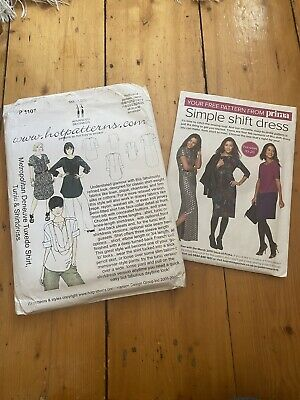 Ladies Dressmaking Pattern X 2 • 3£