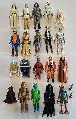 $ CDN206.41 • Buy Vintage Kenner Star Wars Lot Of 20 Of The First 21 Figures LOOSE