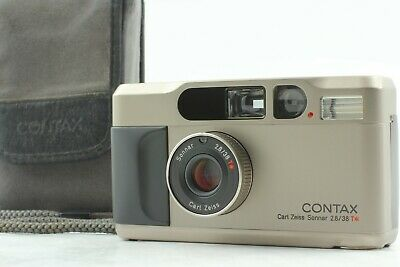 $ CDN1265.87 • Buy REAR【TOP MINT In Case Strap】 Contax T2 35mm Point & Shoot Film Camera From Japan