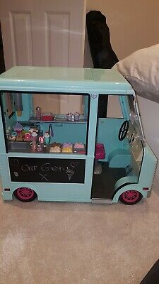 Our Generation Sweet Stop Ice Cream Truck.  • 50£