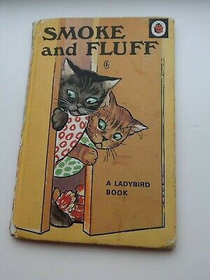 Vintage Ladybird Book - Smoke And Fluff  - Series 401 • 2£
