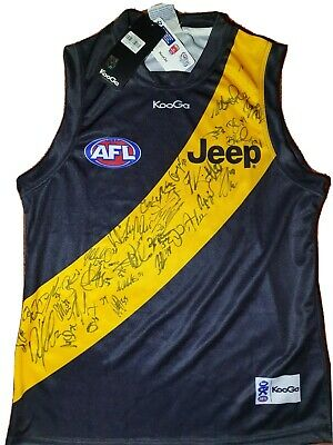 AU125 • Buy Richmond Tigers Jumper Signed By Over 25  Players Brand New Never Worn