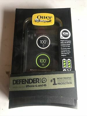 Genuine OtterBox Defender ION Battery Case For Apple IPhone 4 & 4S, 77-25819 • 4.86£