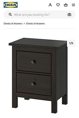 Ikea Hemnes Bedside Chest Of Drawers  • 80£