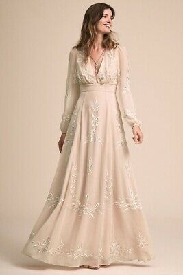 AU297.38 • Buy BHLDN Belize Wedding Dress Size 2 Bohemian
