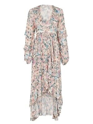 AU99 • Buy SPELL Designs Sayulita Frill Gown Musk - Size XS