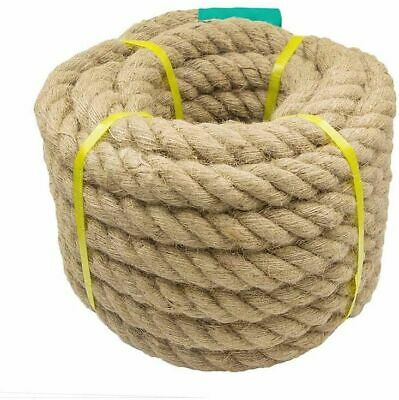 Jute Rope Woven Linen String Cords For DIY Craft Tools Supplies Eco-Friendly New • 36.06£