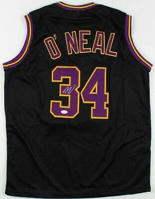 AU220 • Buy Shaquille O'Neal Hand Signed Jersey (JSA) Hologram And Matching COA Included!!
