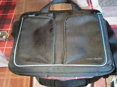Samsonite Laptop Bag, Size Large/ 16 Inches Width By 13 Inches Length, Black And • 4.44£