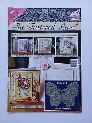 Tattered Lace Magazine Including Die And Papers • 1.50£
