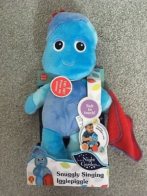 In The Night Garden Snuggly Singing Iggle Piggle Super 29cm Soft Toy • 0.99£