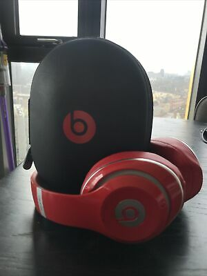 Beats Studio By Dre 2.0 Wireless - Red Headphones - With Charging Cable And Case • 34£