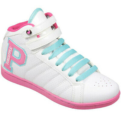 £9.95 • Buy Girls Trainers Pineapple White High Top Dance Shoes Casual Trainers
