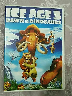 Ice Age 3 : Dawn Of The Dinosaurs Animated, KIDS,Family DVD Film Movie U / G • 2.98£