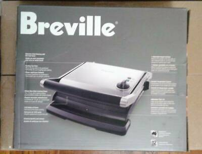 NEW OPEN BOX Breville BGR200XL Panini Grill Stainless 1500W Local Pickup Avail • 79.64£