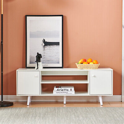 TV Stand Cabinet TV Unit Bench Storage Cabinet With Doors Shelf For Living Room  • 59.99£