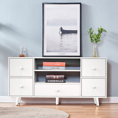 TV Stand Cabinet TV Unit Bench Storage Cabinet With Drawer Shelf For Living Room • 68.99£
