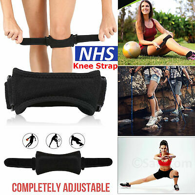 Adjustable Patella Tendon Strap Knee Support Jumpers Runners Pain Band Brace NHS • 3.45£