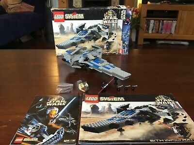 LEGO Star Wars 7151 Sith Infiltrator 100% Complete With Instructions And Box Vgc • 34.99£