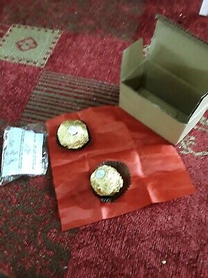 Silk To Ferrero Rocher Illusion - Magicians Know What This Is ! Used Bargain  ! • 9.99£