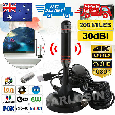 AU14.90 • Buy New Portable Indoor Outdoor TV Antenna Digital Freeview Aerial Ariel HDTV