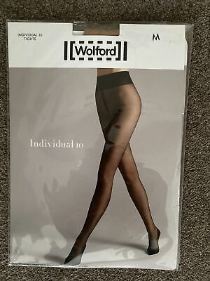 Wolford Individual 10 Tights Medium Fairy Light • 6.50£