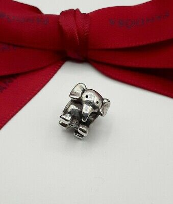 AU28.50 • Buy Authentic Pandora African Elephant Silver Charm #790480  Retired.
