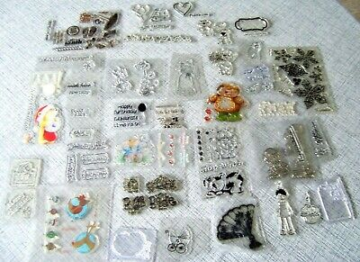 JOB LOT Stamps For Card Making - BUNDLE - **** 35+**** UNUSED • 1.99£