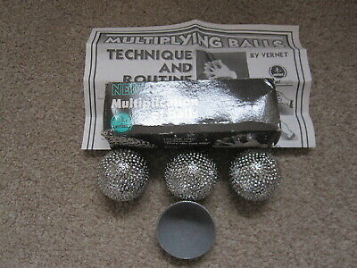 Vernet Multiplication Of Balls Silver Magic Trick Conjuring Illusion • 9.99£
