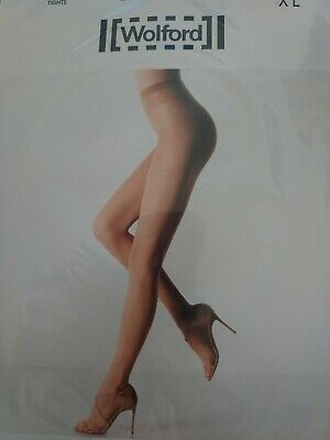 Wolford Transparency 10 Tights, XL, Cosmetic • 7£